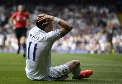 Gareth Bale di salah satu pertandingan bersama Spurs, beberapa waktu lalu